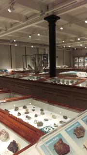 Harvard Natural History Museum 'Hall of Rocks'